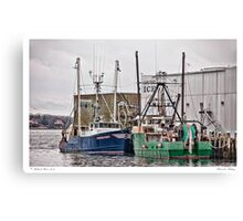 Gloucester Fishing Canvas Print