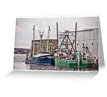 Gloucester Fishing Greeting Card