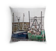 Gloucester Fishing Throw Pillow