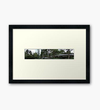 Charter Garden Hong Kong Framed Print