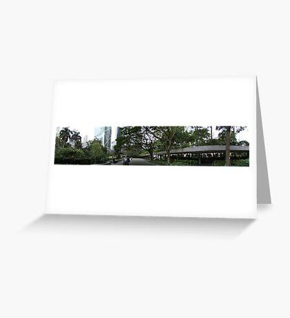 Charter Garden Hong Kong Greeting Card