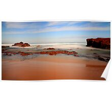 Forrest Caves Beach Poster