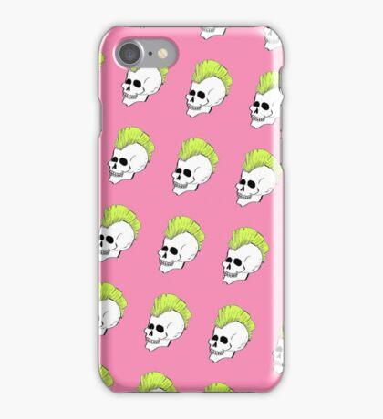 Punk Rock Skull  iPhone Case/Skin