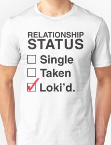 AVENGERS - SINGLE TAKEN LOKI'D Unisex T-Shirt