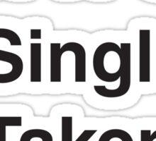 AVENGERS - SINGLE TAKEN LOKI'D Sticker