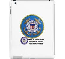 U. S. Coast Guard Remembers  iPad Case/Skin