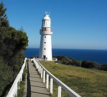 The Eye of the Needle. (Cape Otway Lighthouse) by Matthew Walmsley-Sims