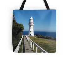 The Eye of the Needle. (Cape Otway Lighthouse) Tote Bag