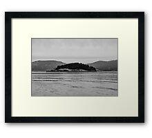 Pacific Northwest Islands Framed Print
