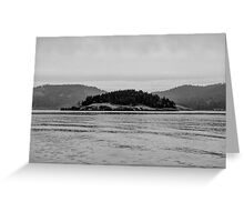 Pacific Northwest Islands Greeting Card