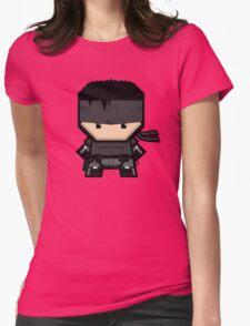 Mekkachibi Snake Womens Fitted T-Shirt