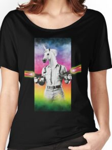 Badass Unicorn Women's Relaxed Fit T-Shirt
