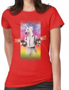 Badass Unicorn Womens Fitted T-Shirt