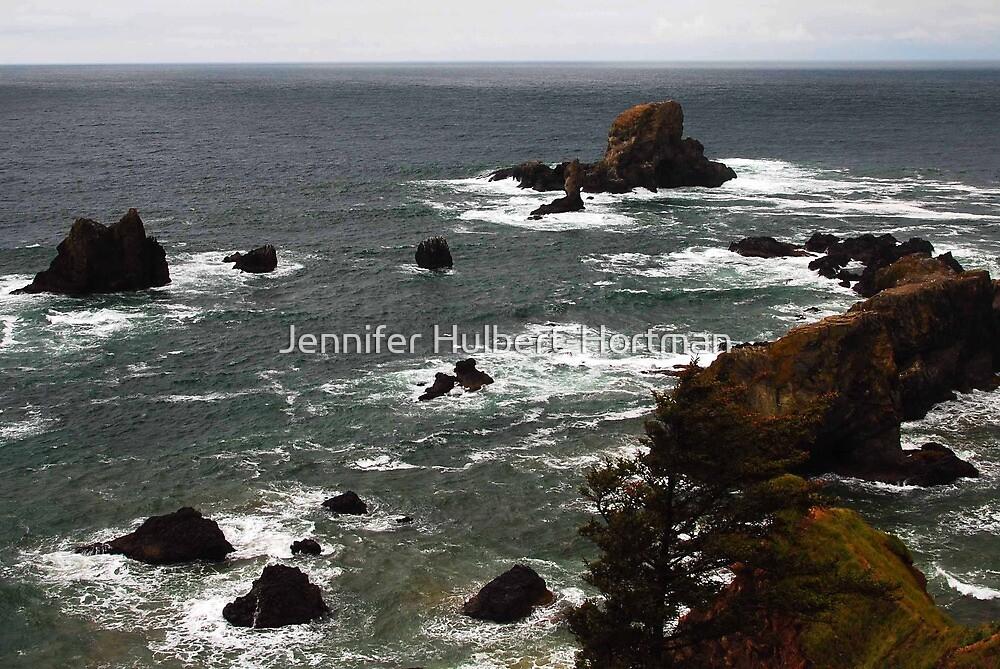 The Oregon Coast by Jennifer Hulbert-Hortman