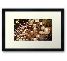 Turkish Lights Framed Print