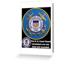 US Coast  Guard Rembers Greeting Card
