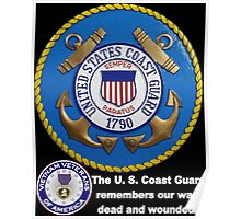 US Coast  Guard Rembers Poster