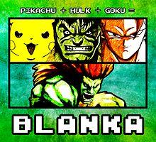 Blanka Fusion (Print Version) by Rodrigo Marckezini