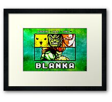 Blanka Fusion (Print Version) Framed Print