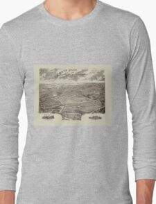 Panoramic Maps Ogontz Park Ogontz Montgomery Co Penna  Wm TB Roberts 410 Land Title Bldg Philadelphia Long Sleeve T-Shirt