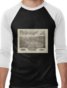 Panoramic Maps Ogontz Park Ogontz Montgomery Co Penna  Wm TB Roberts 410 Land Title Bldg Philadelphia Men's Baseball ¾ T-Shirt