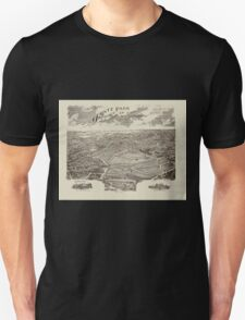 Panoramic Maps Ogontz Park Ogontz Montgomery Co Penna  Wm TB Roberts 410 Land Title Bldg Philadelphia T-Shirt