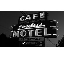 Loveless Cafe Photographic Print