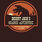 Desert Jack&#x27;s Graboid Adventure logo by sponzar