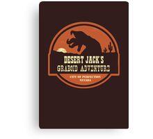 Desert Jack's Graboid Adventure logo Canvas Print