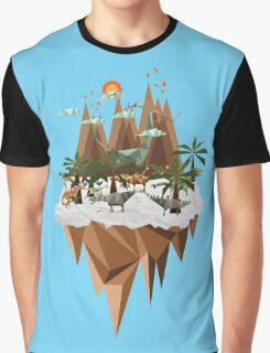 Dinosaur Land Graphic T-Shirt