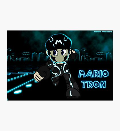 Mario Tron (Print Version) Photographic Print