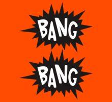 Cartoon Bang Bang by Chillee Wilson Kids Clothes