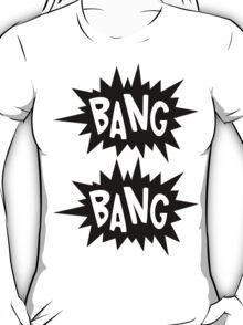Cartoon Bang Bang by Chillee Wilson T-Shirt