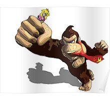 Donkey King-Kong Poster