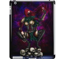 Female Assassin iPad Case/Skin