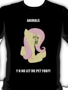Fluttersy Y U NO T-Shirt