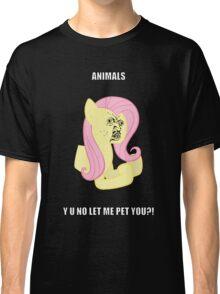 Fluttersy Y U NO Classic T-Shirt