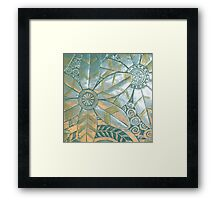 The Bold and the Beautiful Framed Print