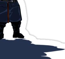 Small Man, Large Shadow Sticker