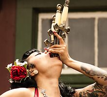 Sword Swallower by Jay Stockhaus