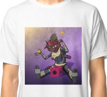 Dumb Dreg (with background) Classic T-Shirt