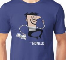 Le Bongo: Beatnik playing the bongos cartoon Unisex T-Shirt