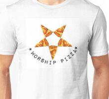 Worship Pizza Unisex T-Shirt