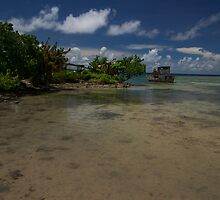 Truk Lagoon by James Deverich