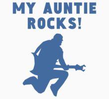My Auntie Rocks Baby Tee