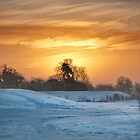 Sunrise over Snow by Iain Mavin