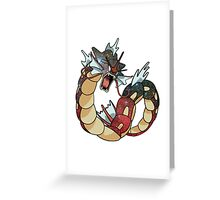 Gyarados - Pokemon Greeting Card