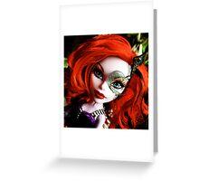 Farrah Hair Greeting Card