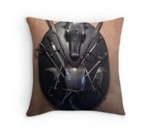 Knights Armor 2 Throw Pillow
