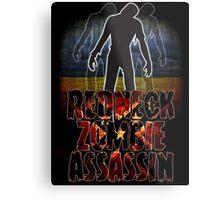 Redneck Zombie Assassin Metal Print